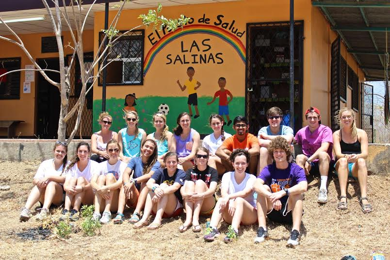 The Nicaragua team at Project Limón!